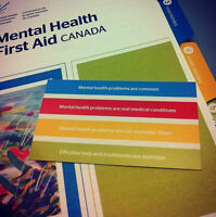 Mental Health First Aid Training October 13-14