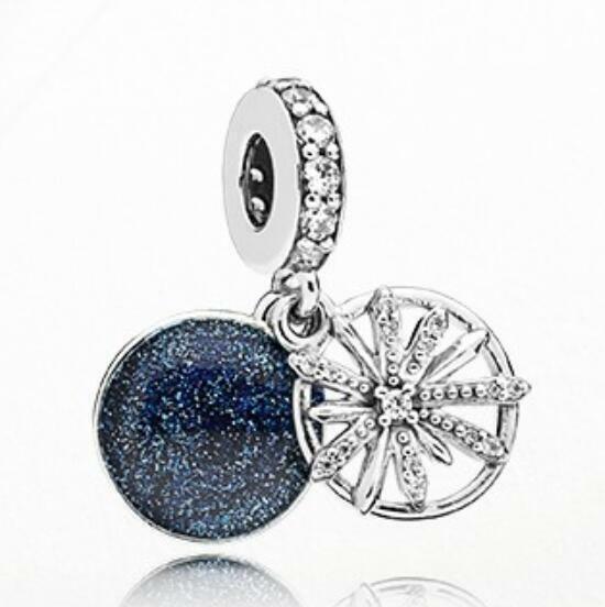 Authentic Pandora S925 Dazzling Wishes Dangle Charm 797531CZ - $13.85