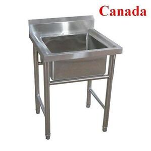 Stainless steel Sink Commercial Kitchen Restaurant work table