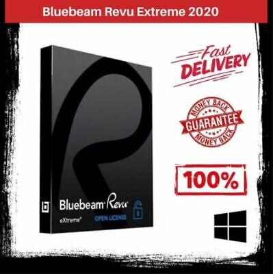 Bluebeam Revu Extreme 2020 (V20) Multilingual ✔️ Full Version ✔️ Lifetime Win64.