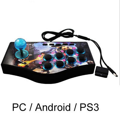 PC / PS3 / Android Device Fighting Stick Arcade Controller Gamepad Game Joystick