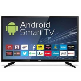 """BRAND NEW! Cello 40"""" Inch Smart TV with Full HD and Freeview T2 HD Entertainment"""