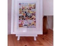 Thundercats - (A4) Comic Strip Print with a choice of White or Black Frame