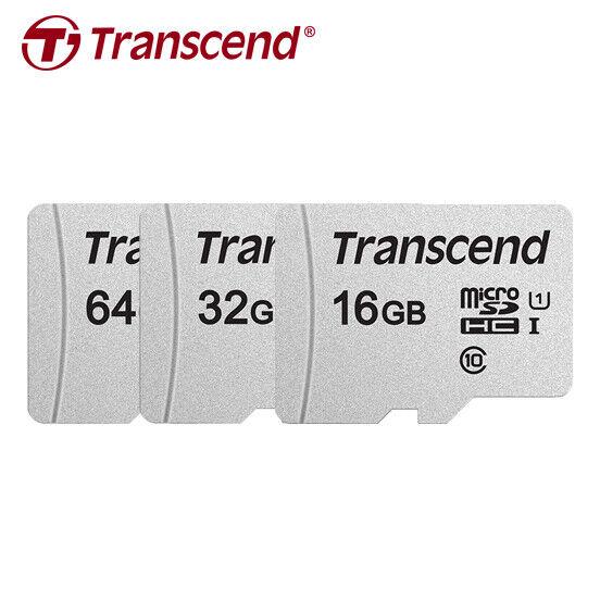 Transcend 16GB 32GB 64GB 300S micro SDHC / SDXC C10 UHS-I TF