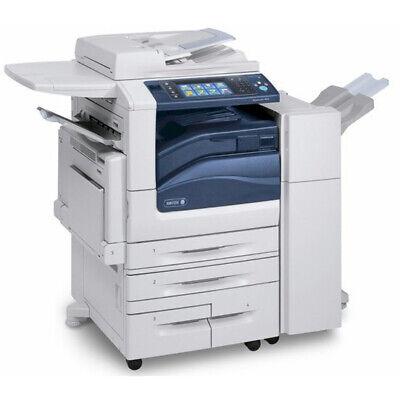 Xerox Workcentre 5955 A3 Mono Mfp Laser Printer Copier Scanner Fax Finisher