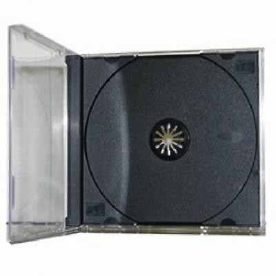 100 Standard Cd Dvd Jewel Cases - Brand New - Assembled - Free Shipping