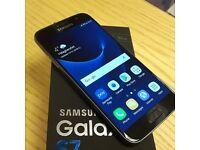 Samsung Galaxy S7 Black Onyx (32GB) - Unlocked - Boxed with Original Accessories
