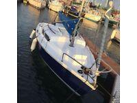 Alacrity 19ft Sailing Boat