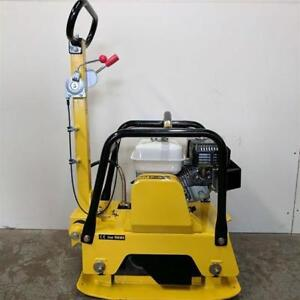 NEW REVERSIBLE PLATE CONCRETE COMPACTOR C125H @ 999.95