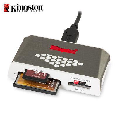 Kingston Multi Media Card Reader/Writer FCR-HS4 USB 3.0 Micro SD / SD Card