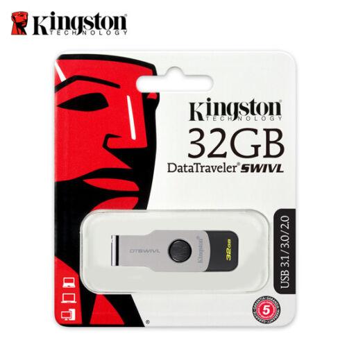Kingston DT106 256GB USB 3.1 DataTraveler Capless Flash Pen Drive with Tracking