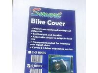 Smart bike cover for 4 Bikes Delivery