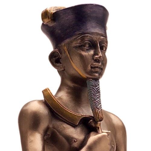 Amun Re Statue Egyptian Figurine Sun God Ra Ankh Amon Ancient Egypt Deity Cold C