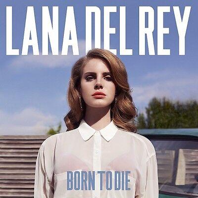 LANA DEL REY Born To Die * CD * 2012 * NEU * TOP Blue Jeans * Video Games (Lana Del Rey Blue Jeans)