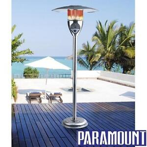 NEW PARAMOUNT SS PATIO HEATER - 114875629 - STAINLESS STEEL NATURAL GAS HEATERS BURNER BURNERS OUTDOOR HEATING HEAT D...