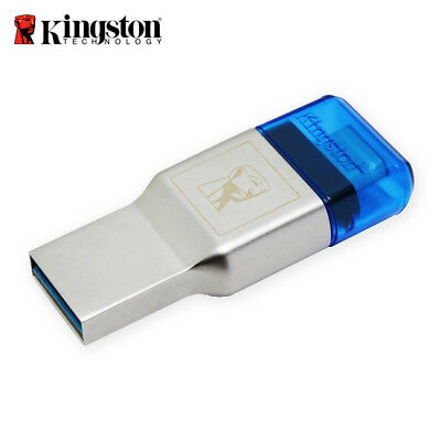 Kingston MobileLite Duo 3C Micro SD USB3.1-A/C Type-C Card Reader OTG