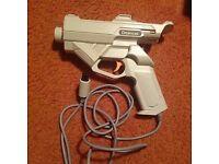Sega Dreamcast gun. Genuine/official retro DC light gun. HKT-7800