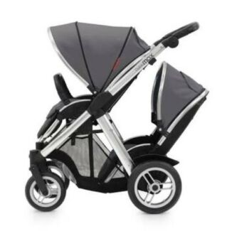 Oyster Max double pram nearly new