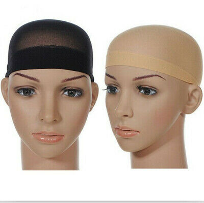 2pcs Stretch Mesh Elastic Wig Cap Net for Wigs Women Hair Accessories Mesh Cap