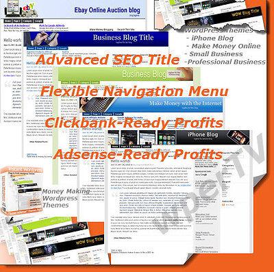 Instant Adsence Seo Clickbank Wordpress Blog Themes   Cd