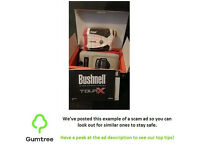 Bushnell Tour X Laser Rangefinder BRAND NEW -- Read the description below before replying to the ad!