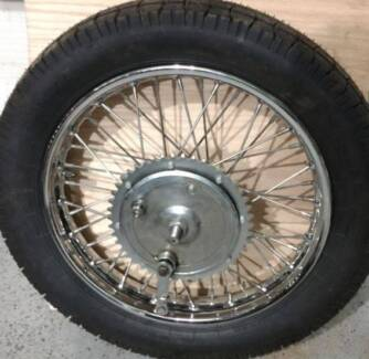 Wanted: Triumph rear wheel and brake assembly