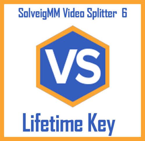 SolveigMM Video Splitter 6 lossless video editing software - lifetime key