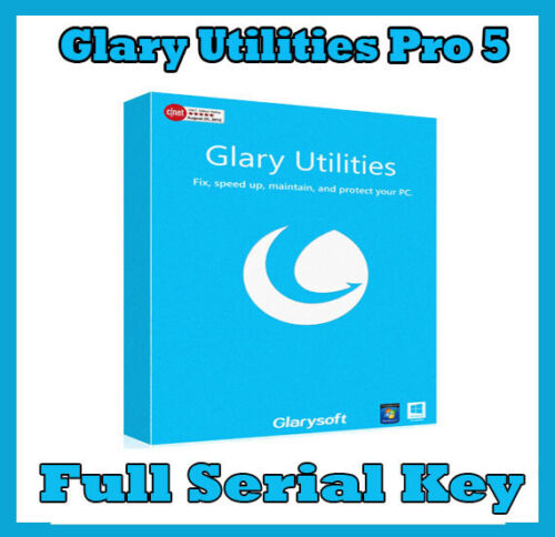 Glary Utilities Pro 5 best collection of system tools to improve your PC SERIAL