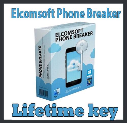 Elcomsoft Phone Breaker Phone Password Breaker mobile access cracking tool Key