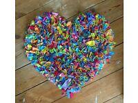 Heart shape rug