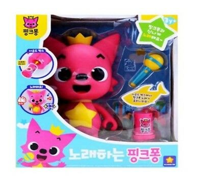 Singing Pinkfong Toy Sound Box 5 Cards Popular Korean Songs For Baby Kids