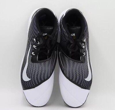 61d502aa5d1 Nike Air Swingman Legend Mid Metal Mens Baseball Cleat Black 807130-010  Size 13