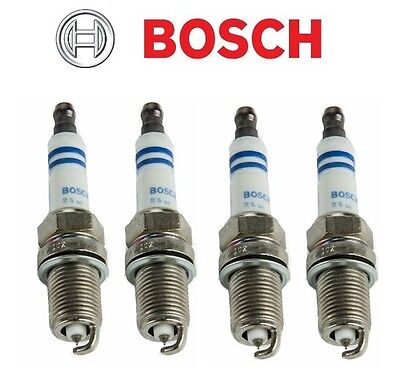 4 pcs spark plugs bosch platinum 6714 fits honda fit civic. Black Bedroom Furniture Sets. Home Design Ideas