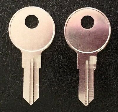 2 Kobalt-Toolbox keys-Cut to your code-BB01 thru BB20-Bauer-Better built locks