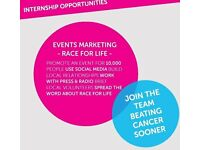 Regional Events Marketing Internship-Voluntary