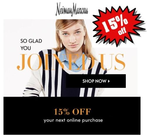Neiman Marcus Coupon 15% Off (Expires Dec 5, 2019) *CLICK HERE* FAST THANK YOU