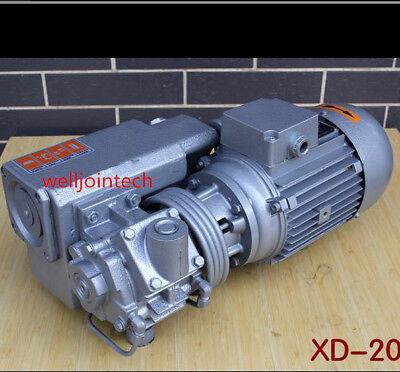 220v Rotary Vane Vacuum Pumps Suction Pump Vacuum Machine Motor Xd-20