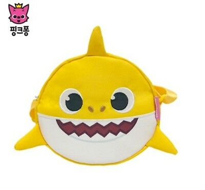 Baby Shark Cross Bag Crossbody Baby Child Kids Korea YL