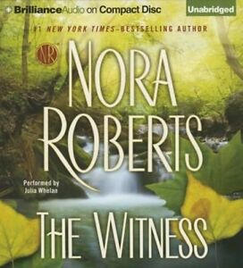 The Witness - Nora Roberts, Compact Disc Audio Book -NEW, Sealed