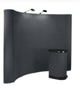 Professional, collapsible trade show booth