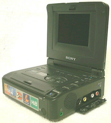 PLAY Hi8 Video8 Video 8 8mm Tapes w/ Sony GV-A500 Player Recorder VCR Deck EX