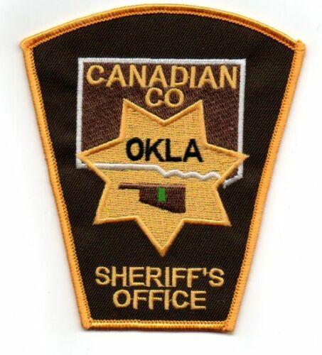 CANADIAN COUNTY SHERIFF OKLAHOMA OK NEW PATCH POLICE