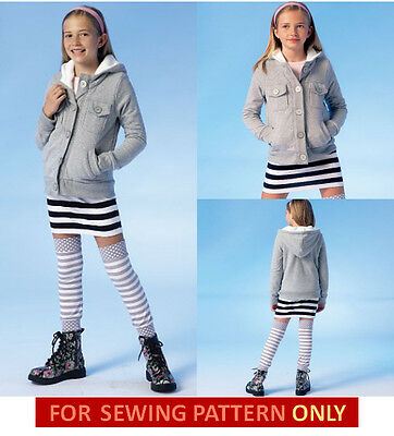 Купить Unbranded - SEWING PATTERN! MAKE GIRLS JACKET~SKIRT~LEG WARMERS! SIZE 7~14! SCHOOL CLOTHES