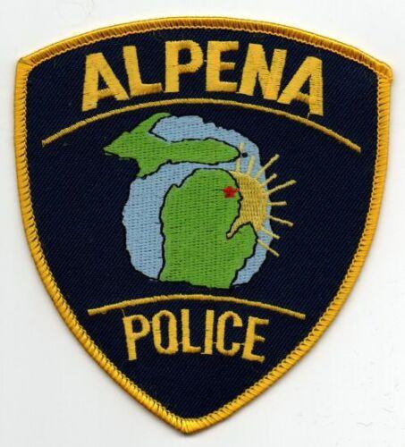 MICHIGAN MI ALPENA POLICE NICE PATCH SHERIFF