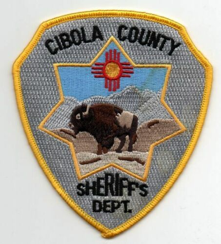 NEW MEXICO NM CIBOLA COUNTY SHERIFF NICE PATCH POLICE