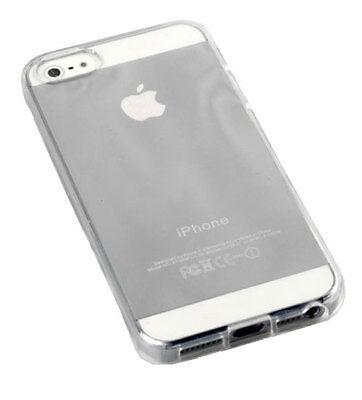 Transparent Case für iPhone 5, 5S, SE, Silikon Silicon Schutz Hülle Schale Cover 5 Silikon Silicon Case