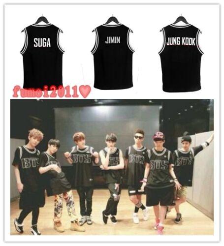 Kupit Bts Kpop Bangtan Boys Jungkook Sleeveless Shirt Basketball Na