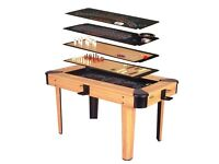 8 in 1 multi function games table including Poker Blackjack Games Table Excellent Condition