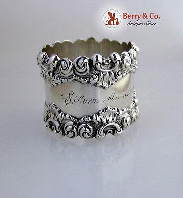 Silver Anniversary Napkin Ring Sterling Silver 1909