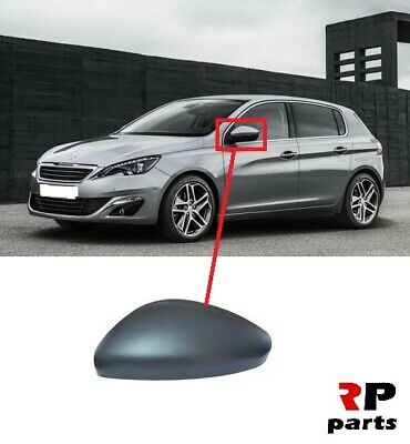 For Peugeot 308 13-18 right hand driver side replacement wing door mirror glass